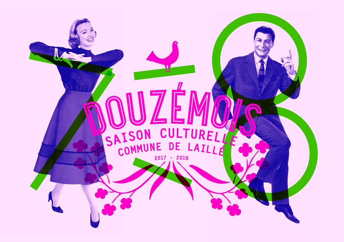Douz mois for Le jardin graphique